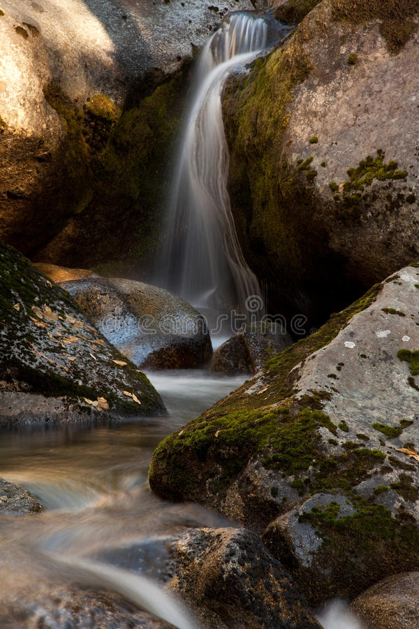 Cascada de Chilnualna foto de archivo