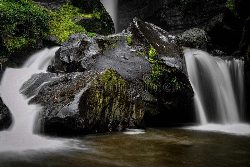 Cascada de Coban Talun, Malang, Java Oriental, Indonesia fotos de archivo
