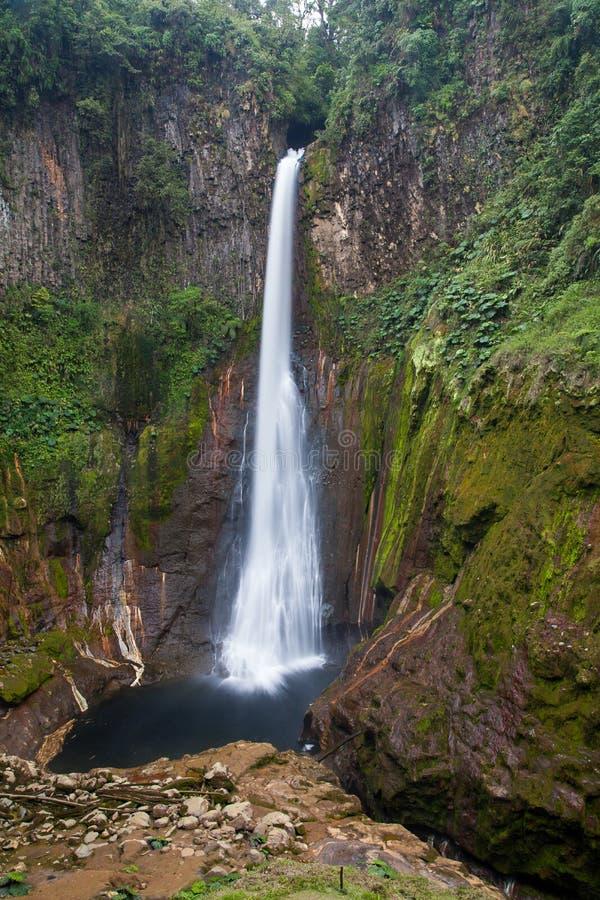 Cascada de Del Toro en Alajuela, Costa Rica fotografía de archivo libre de regalías