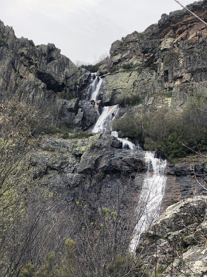Cascada de Despeñalagua imagen de archivo libre de regalías