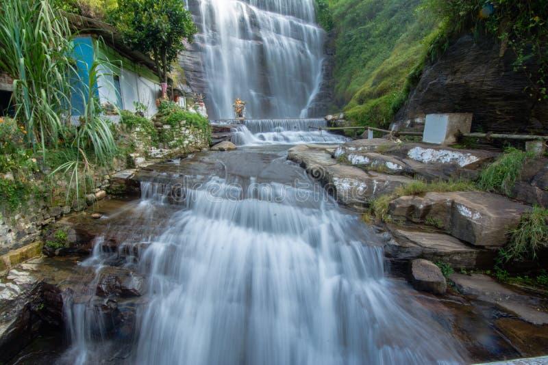 Cascada de Dunsinane en Sri Lanka foto de archivo