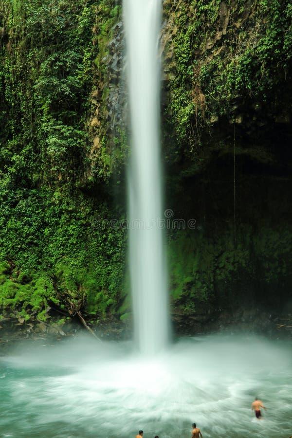 Cascada de Fortuna del La, Costa Rica fotos de archivo libres de regalías