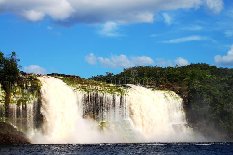 Cascada de Hacha - Venezuela fotografía de archivo libre de regalías