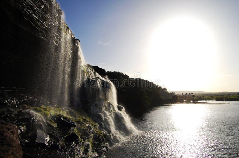 Cascada de Hacha - Venezuela imagen de archivo
