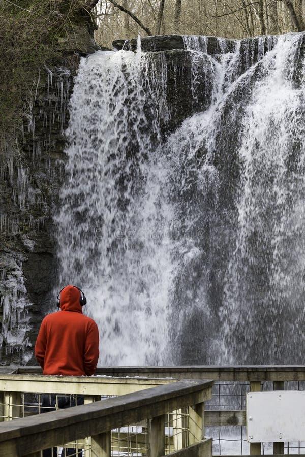 Cascada de Hayden Falls imágenes de archivo libres de regalías