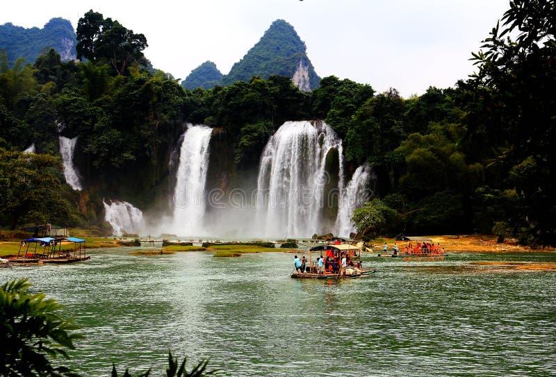 Cascada de Huangguoshu fotos de archivo