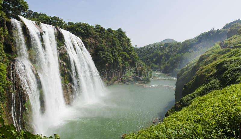 Cascada de Huangguoshu fotografía de archivo