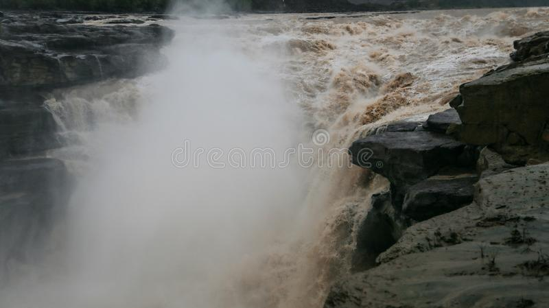Cascada de Hukou imagen de archivo