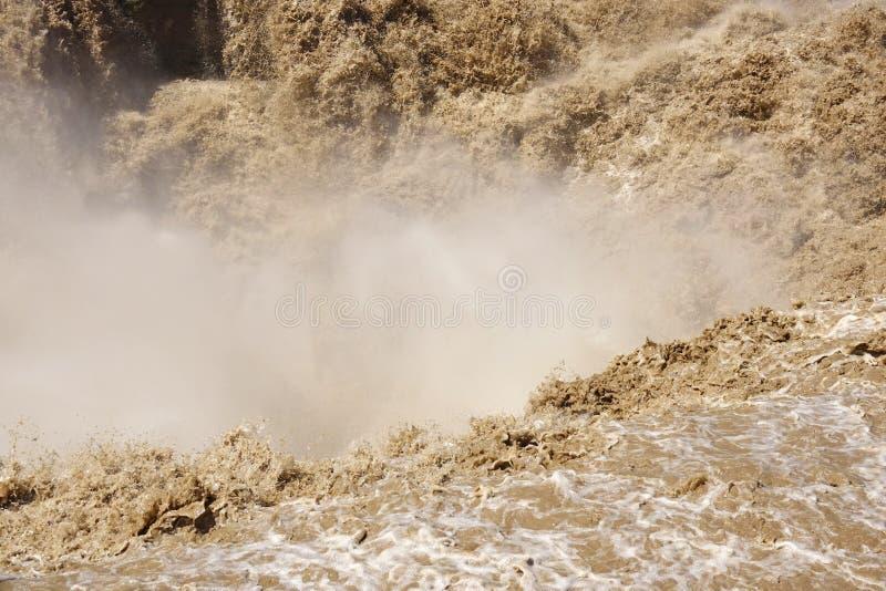 Cascada de Hukou foto de archivo libre de regalías