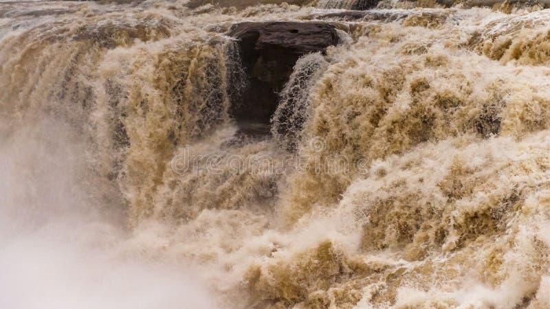 Cascada de Hukou fotos de archivo