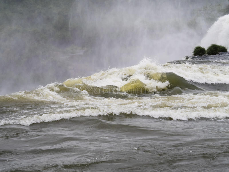 Cascada de Iguazu en la Argentina foto de archivo libre de regalías