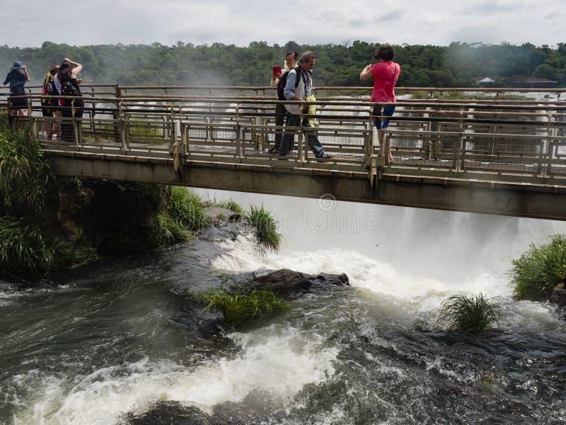 Cascada de Iguazu en la Argentina fotos de archivo