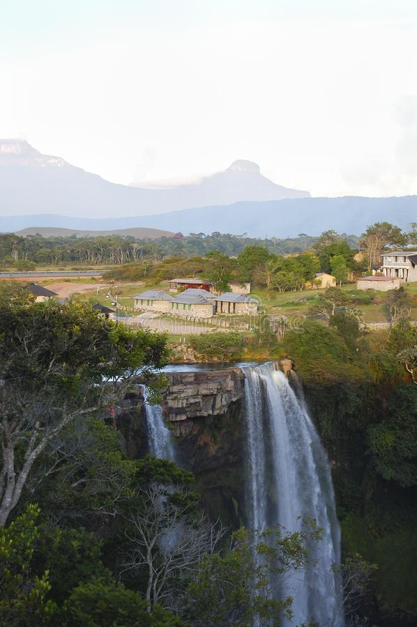 Cascada de Kama foto de archivo