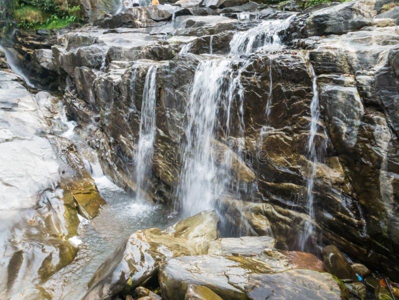 Cascada de Mae Klang, fotos de archivo libres de regalías