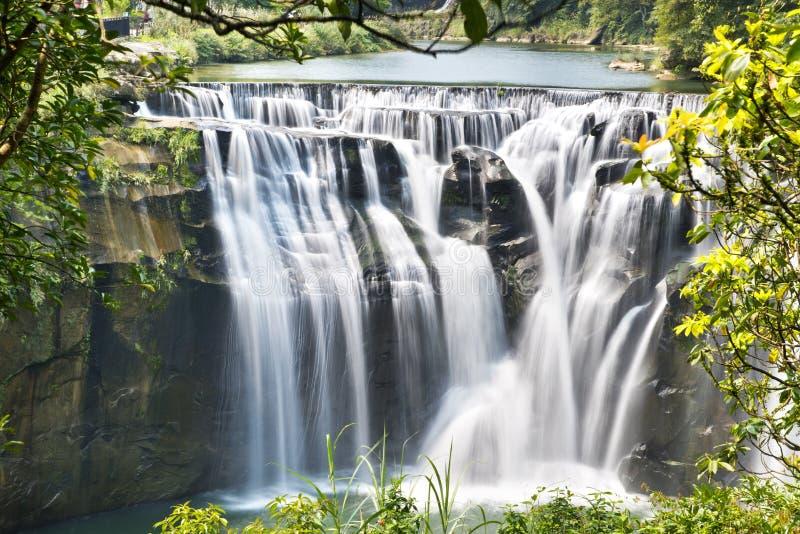 Cascada de Taiwán Shifen imágenes de archivo libres de regalías