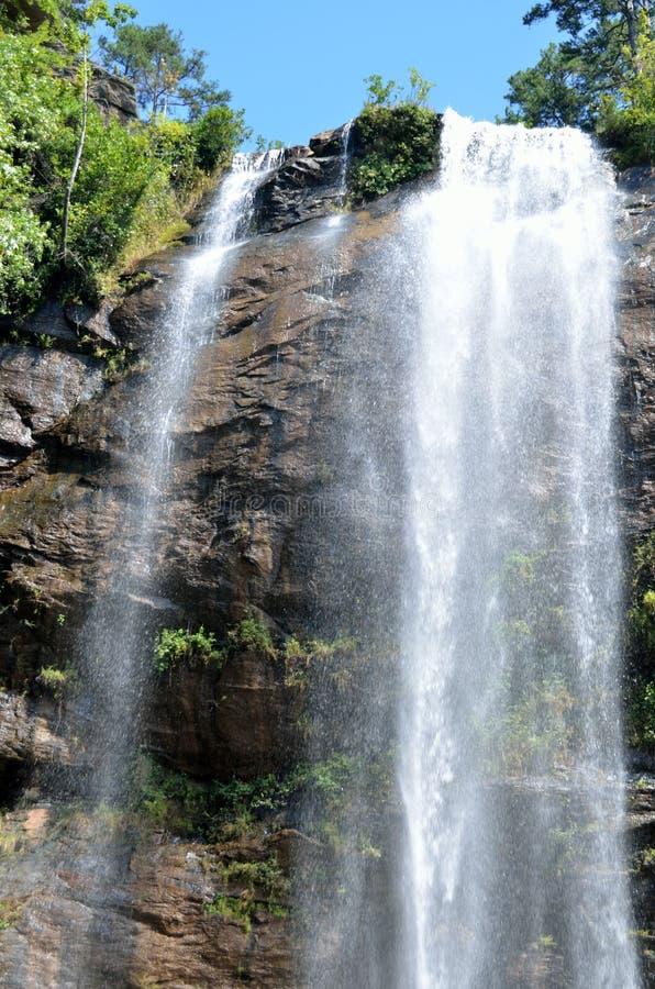 Cascada de Toccoa foto de archivo