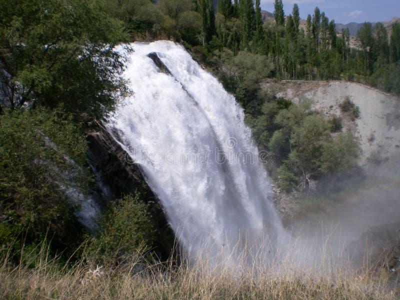 Cascada de Tortum en Erzurum, Turquía fotos de archivo