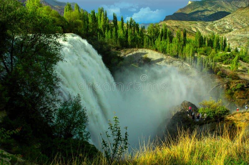 Cascada de Tortum, Erzurum, Turquía imagen de archivo libre de regalías