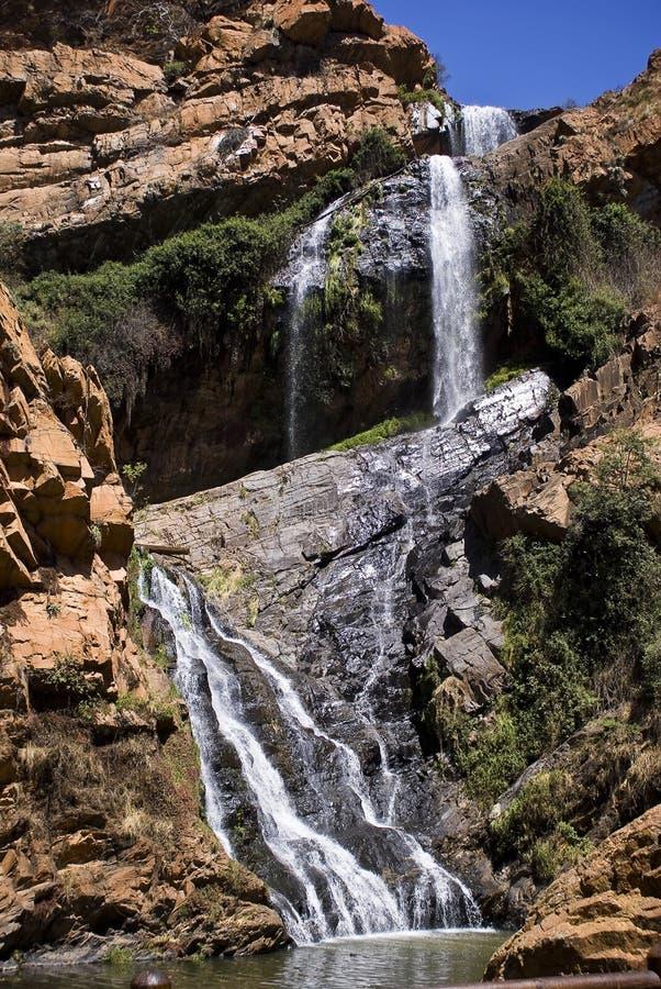 Cascada de Witpoortjie fotos de archivo