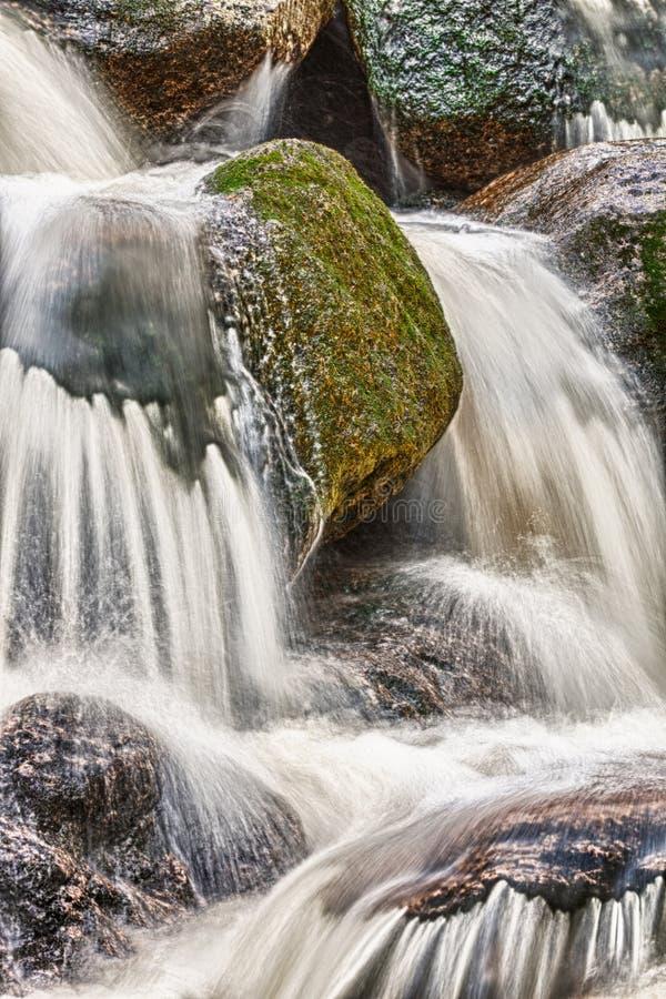 Cascada Del Agua De HDR Imagen de archivo libre de regalías