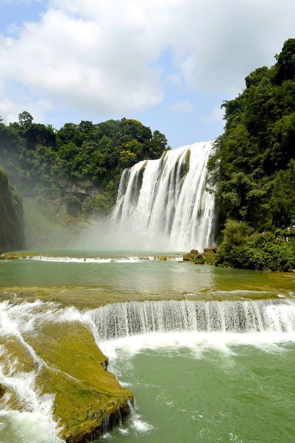 Cascada del huangguoshu de China Guizhou fotos de archivo libres de regalías