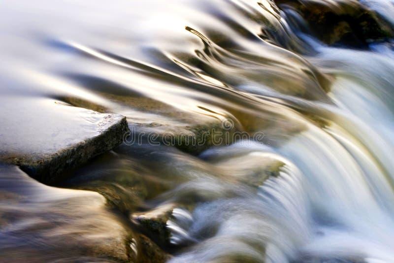 Cascada del río fotografía de archivo