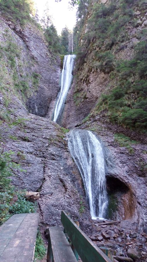 Cascada Duruitoarea fotografía de archivo
