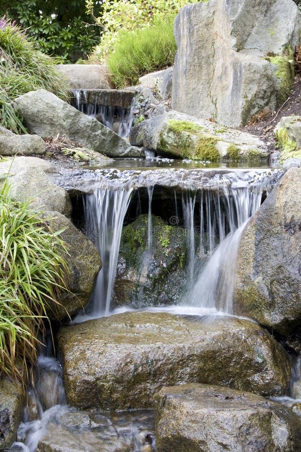 Cascada en jard n japon s imagen de archivo imagen de plantas 29569951 - Cascada de jardin ...