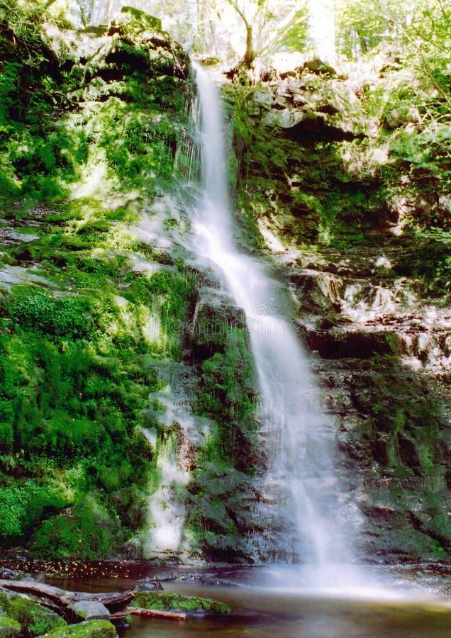 Cascada en las montañas galés fotografía de archivo libre de regalías