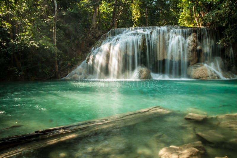 Cascada en parque nacional imagenes de archivo