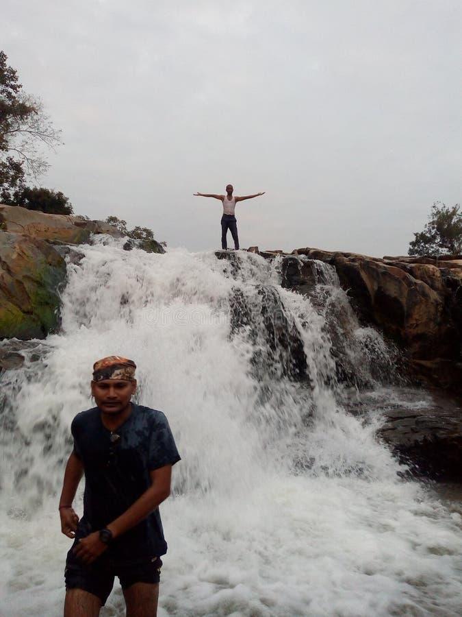 Cascada en Rayagada en la India imagen de archivo libre de regalías