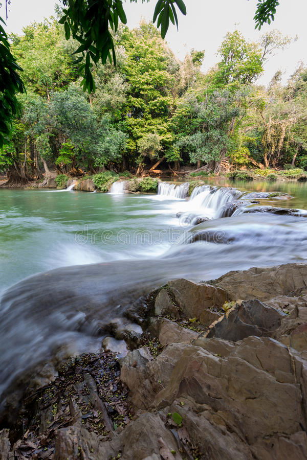 Cascada en Tailandia fotos de archivo libres de regalías