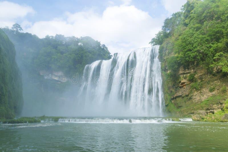 cascada famosa de Guizhou Huangguoshu fotografía de archivo libre de regalías