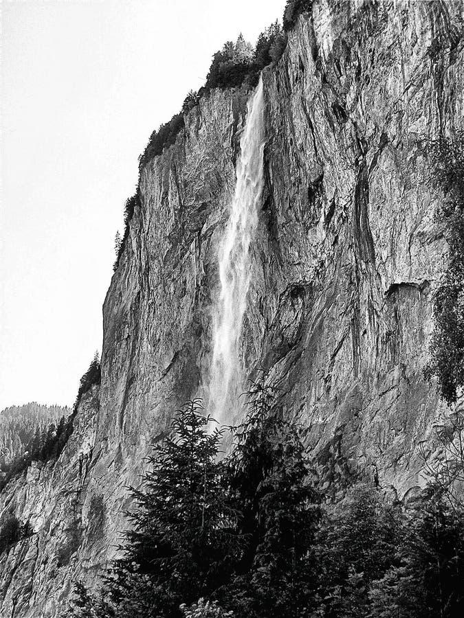 Cascada imponente imagen de archivo