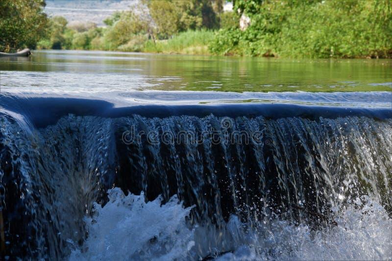 Cascada Israel del norte fotografía de archivo libre de regalías
