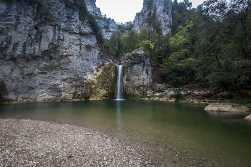 Cascada Kastamonu, Turquía de Ilica imagen de archivo