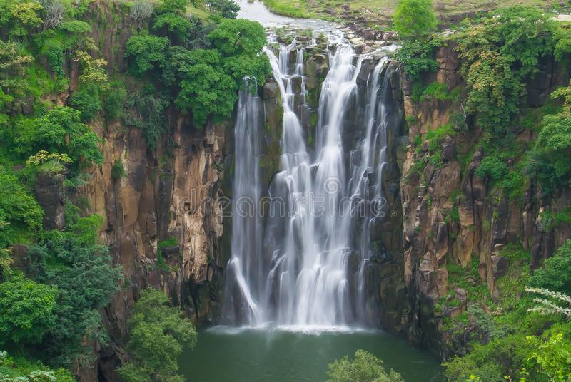 Cascada Patalpani Indore foto de archivo libre de regalías
