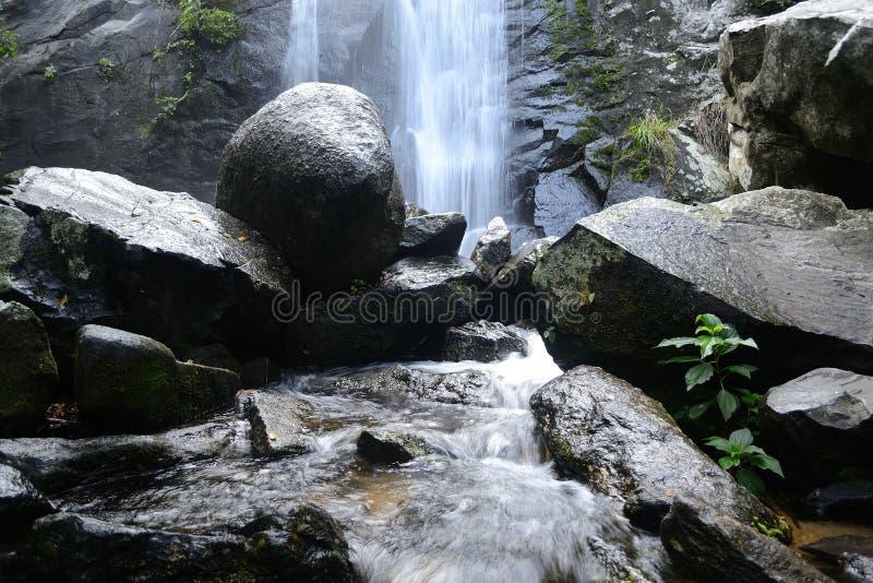 Cascada Tres Tombos royalty free stock image