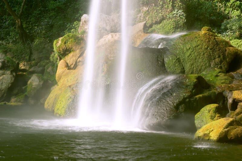 Cascada (waterfall) Misol Ha stock photography