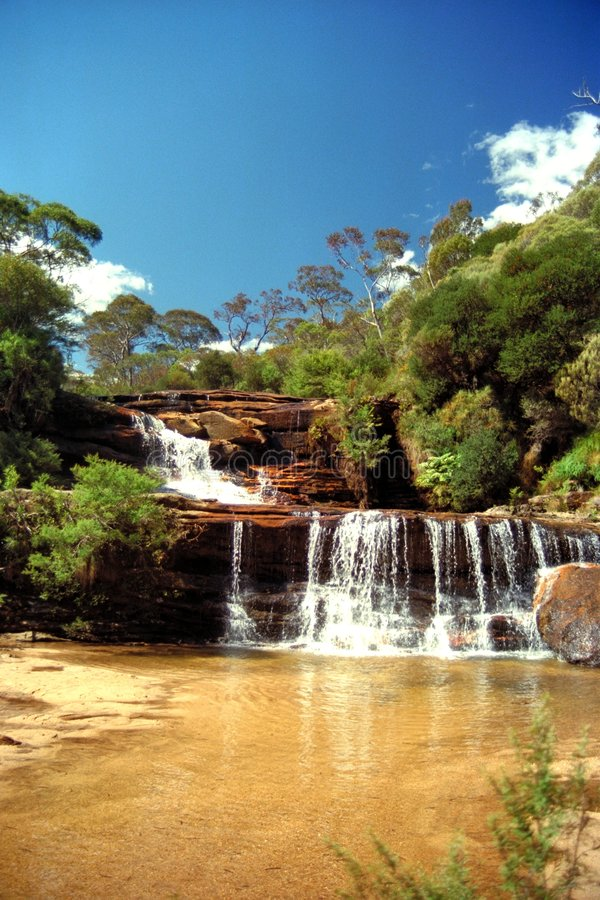 Cascadas australianas fotos de archivo libres de regalías