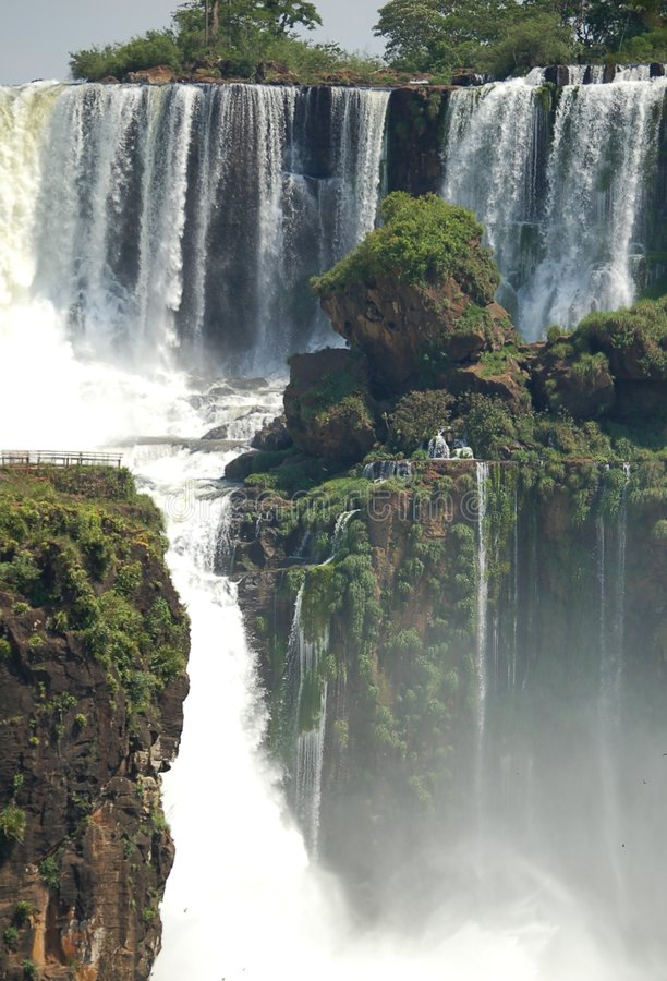 Cascadas de Iguazu fotografía de archivo