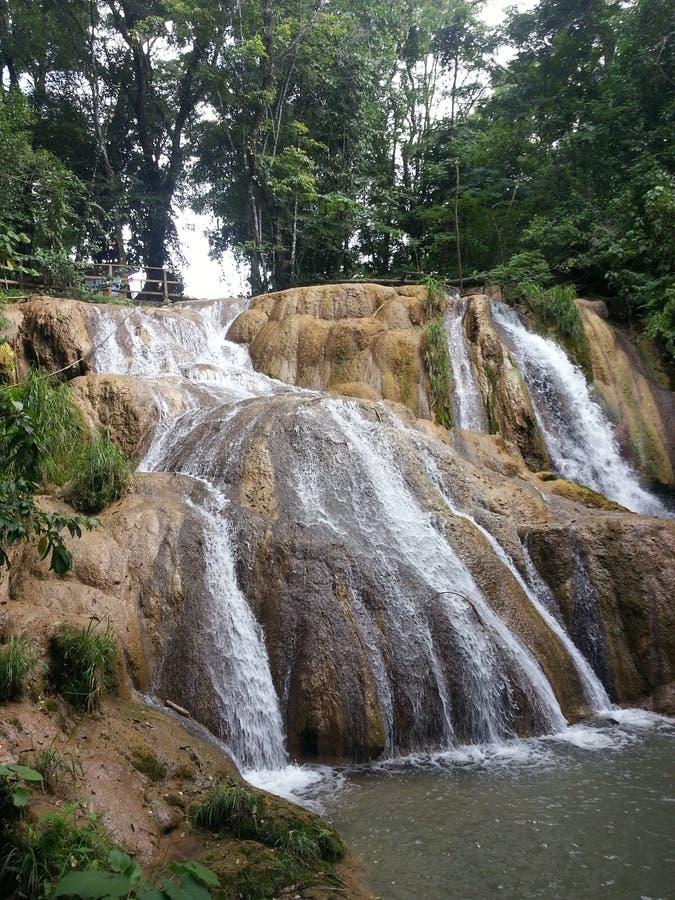 Cascadas de Messico immagini stock libere da diritti