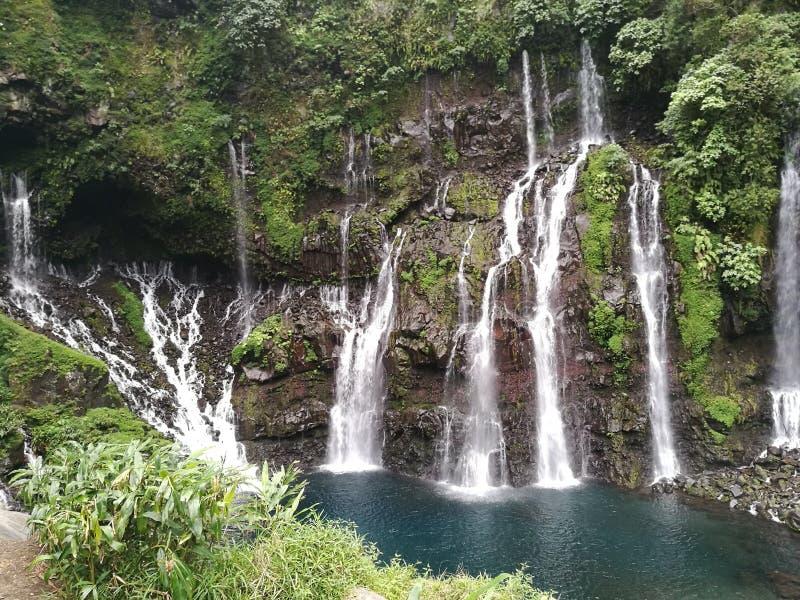 Cascadas del langevin de la cascada fotografía de archivo