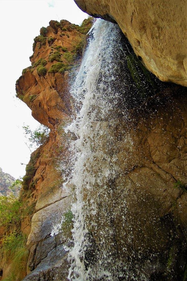 Cascadas del Rio Kolorado wędrówka obrazy royalty free