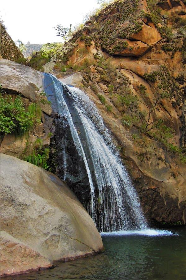 Cascadas del Rio Kolorado wędrówka zdjęcia stock