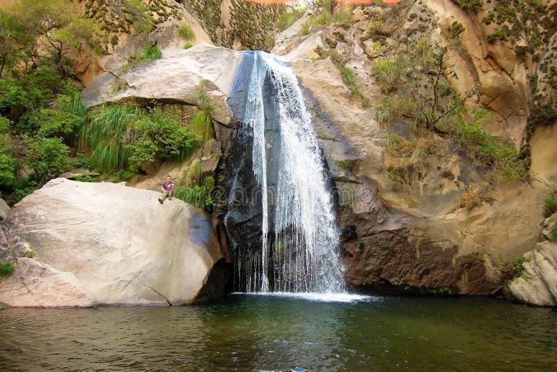Cascadas del Rio Kolorado wędrówka obraz stock