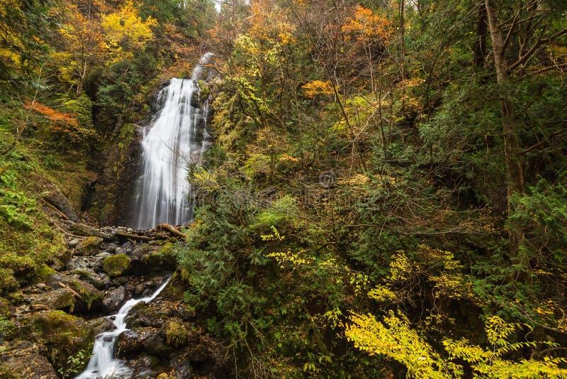 Cascadas en otoño imágenes de archivo libres de regalías