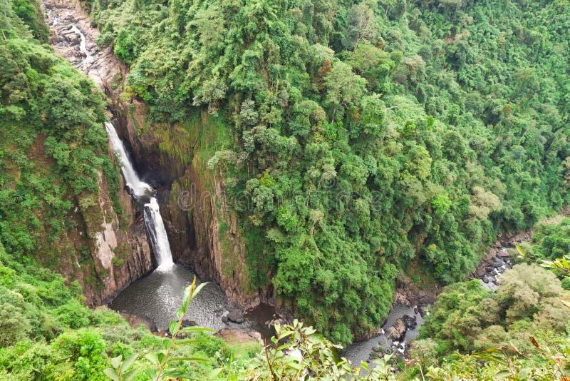 Cascadas en Tailandia, Heaw Narok foto de archivo libre de regalías