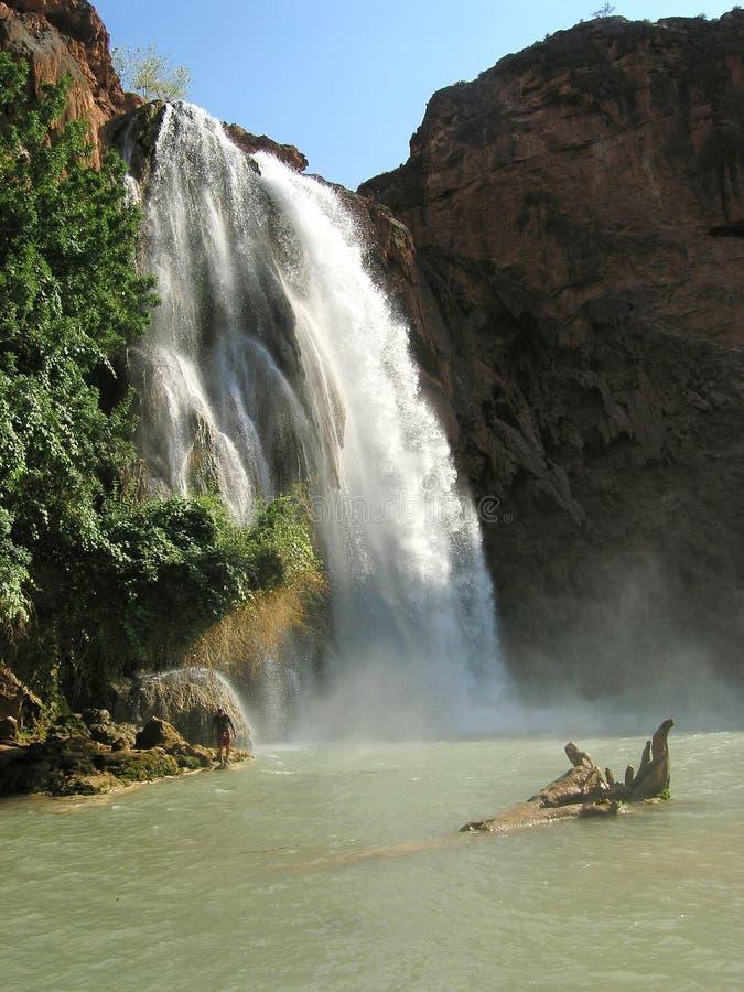 Cascade à écriture ligne par ligne, Arizona photographie stock libre de droits
