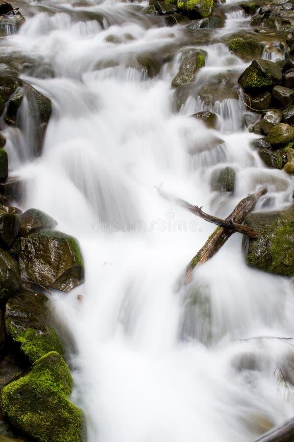 cascade à écriture ligne par ligne de Washington photo libre de droits